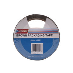 View more details about GoSecure Packaging Tape 50mmx66m Brown (Pack of 6) PB02296
