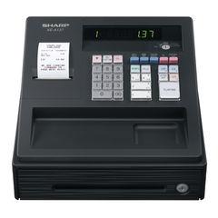 View more details about Sharp XE-A137 Cash Register Black XEA137BK