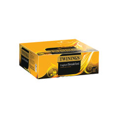 View more details about Twinings English Breakfast Tea Bags, Pack of 100 - F14984