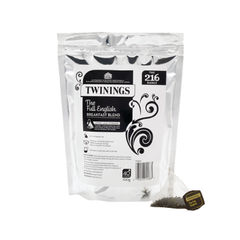 View more details about Twinings Full English Breakfast Pyramid Tea Bags, Pack of 40 - F12522
