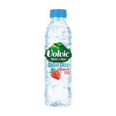 View more details about Volvic 500ml Touch of Fruit Strawberry Water, Pack of 12 - 122440