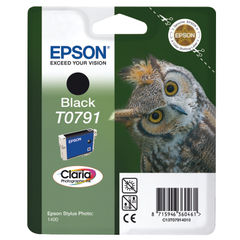 View more details about Epson T0791 Black Ink Cartridge - C13T07914010