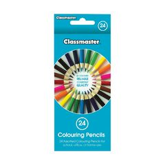 View more details about Classmaster Colouring Pencils Assorted (Pack of 24) CPW24