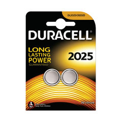 View more details about Duracell DL2025 3V Lithium Button Battery (Pack of 2) 75072667