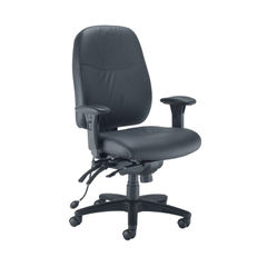 View more details about Avior Snowdon Black Heavy Duty Office Chair