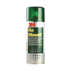 View more details about 3M ReMount Creative Spray Repositionable Adhesive 400ml REMOUNT