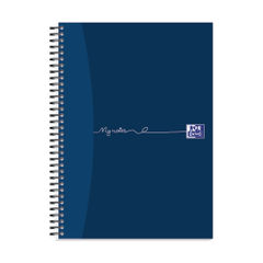 View more details about Oxford My Notes Card Cover Wirebound Notebook 100 Pages A4 (Pack of 5) 400020193