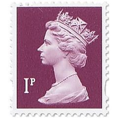View more details about Royal Mail 1p Postage Stamp Sheet (Sheet of 25) – D01