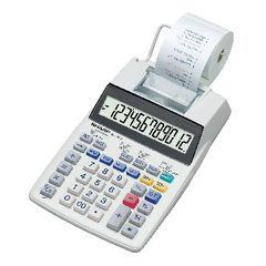 View more details about Sharp Printing Calculator (12 Digit LCD Display) EL1750V