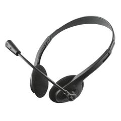 View more details about Trust Primo Chat Headset for PC and laptop (Remote inline volume control for speakers) 21665