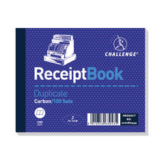 View more details about Challenge Duplicate Receipt Book 100 Sets 105x130mm (Pack of 5) 100080444