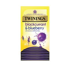View more details about Twinings Blackcurrant and Blueberry Tea Bags, Pack of 20 - F14393