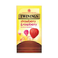 View more details about Twinings Strawberry and Raspberry Tea Bags, Pack of 20 - F14906