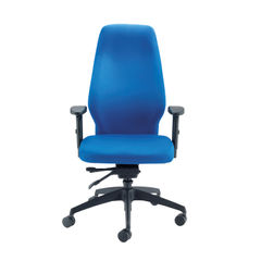 View more details about Cappela Dynamic Blue High Posture Office Chair