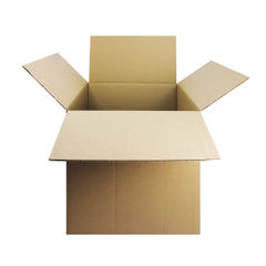 View more details about Double Wall 457x305x305mm Corrugated Cardboard Boxes, Pack of 15 - SC-64