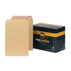 View more details about New Guardian C4 Manilla Pocket Envelopes, Pack of 250 - J26339