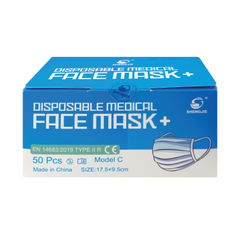 View more details about 3-Layer Medical Face Masks, Pack of 50 - 56200