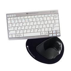 View more details about Bakker Elkhuizen Ultraboard Wireless Keyboard/Mouse FOC Mat BNEHWB1UK