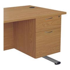 View more details about Jemini 655 Nova Oak 2 Drawer Fixed Pedestal