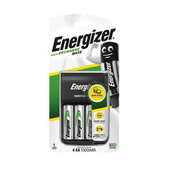 View more details about Energizer Base Battery Charger 4x AA Batteries 1300 Mah 632229