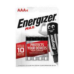 View more details about Energizer AAA MAX Batteries, Pack of 4 - E300124200