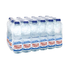 View more details about Brecon Carreg 500ml Still Mineral Water (Pack of 24) - 50115030084