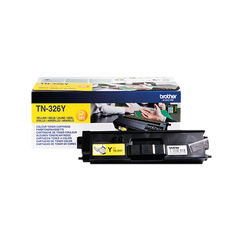 View more details about Brother TN326Y High Capacity Yellow Toner Cartridge - TN326Y