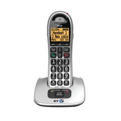 View more details about BT BT4000 Single Big Button DECT Cordless Phone Silver/Black 069264