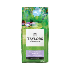View more details about Taylors 227g Lazy Sunday Ground Coffee - 3675/B