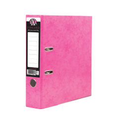 View more details about Concord IXL 70mm Selecta Lever Arch File A4 Pink (Pack of 10) 162242