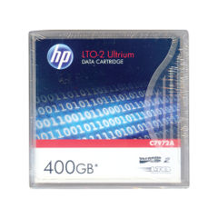 View more details about HP Ultrium LTO-2 400GB Data Cartridge C7972A