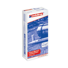 View more details about edding 751 White Fine Paint Markers, Pack of 10 - 751-049