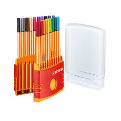View more details about STABILO Assorted Point 88 Fineliner Pens, Pack of 20 - 8820-03