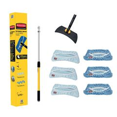 View more details about Rubbermaid High Level Glass Cleaning Kit – 1940379