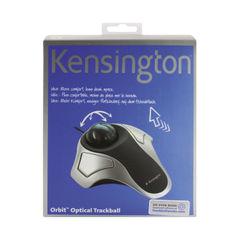 View more details about Kensington Orbit Optical Trackball Silver/Grey 64327EU
