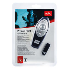 View more details about Nobo P3 Page Point and Present Laser Pointer Dark Blue 1902390