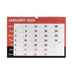 View more details about Wirebound Month To View Calendar A3 2022 KFYC2322
