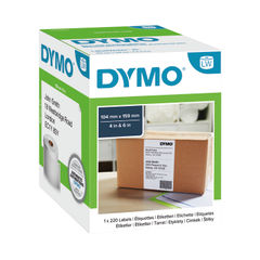 View more details about Dymo LabelWriter Extra Large Shipping Labels 104 mm x 159 mm S0904980