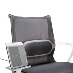 View more details about Fellowes I-Spire Black and Grey Lumbar Support Cushion - 8042201