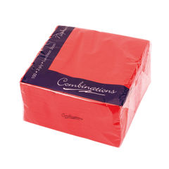 View more details about Maxima Red 2-Ply Napkins, Pack of 100 - VSMAX33/2R