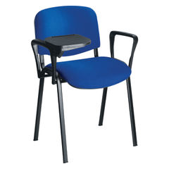 View more details about Jemini Black Chair Arm and Writing Tablet