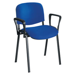 View more details about Jemini Black Stacking Chair Arms, Pack of 2