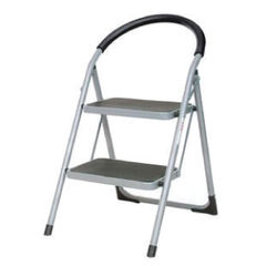 View more details about White 2 Tread Step Ladder - 359293