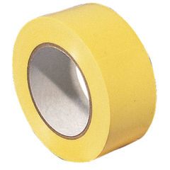 View more details about VFM 50mm x 18.3m Yellow Lane Marking Tapes, Pack of 6 - 372877