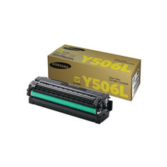 View more details about Samsung CLT-Y506L High Capacity Yellow Toner Cartridge - SU515A