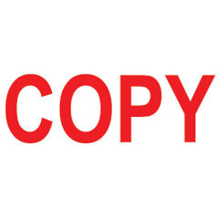 View more details about COLOP Green Line Red COPY Word Stamp - EM42396