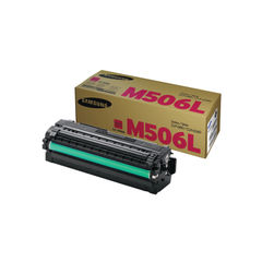 View more details about Samsung CLT-M506L High Capacity Magenta Toner Cartridge - SU305A