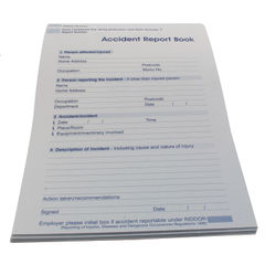 View more details about Wallace Cameron Accident Report Book 5401015