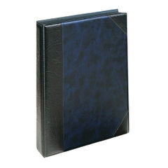 View more details about Exacompta Guildhall Telephone Address Book A-Z index A5 Blue DTAA5/BL