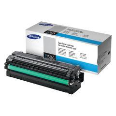 View more details about Samsung CLT-C506L High Capacity Cyan Toner Cartridge - SU038A